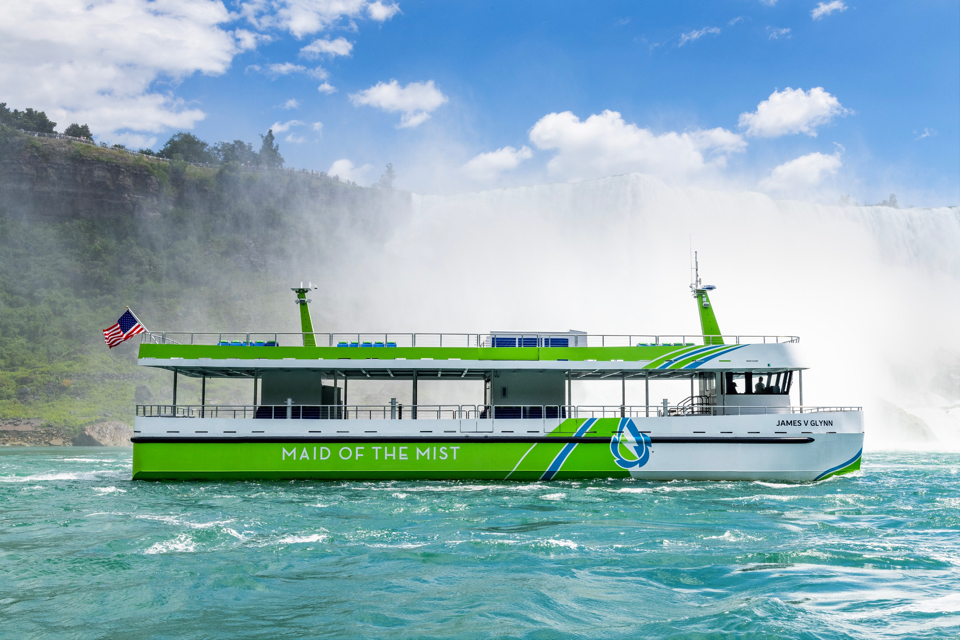 First all-electric US built ferries enter service