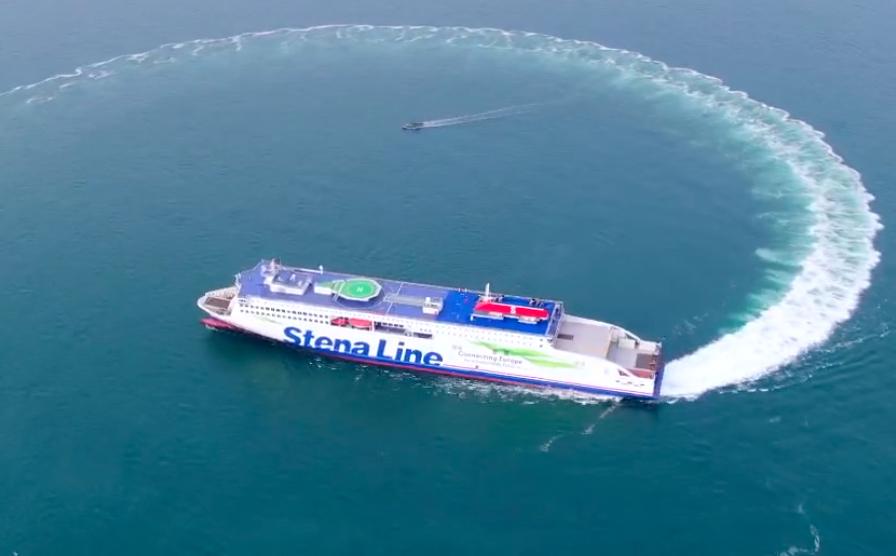Stena Embla completes sea trials