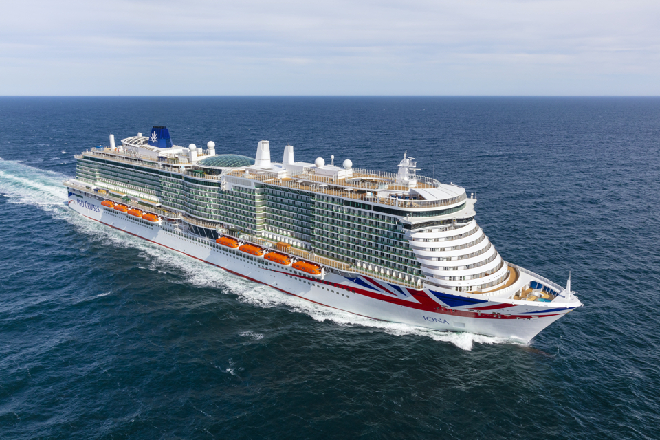 Meyer Werft delivers cruise ship Iona to P&O