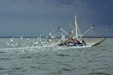 North Sea fishing vessel