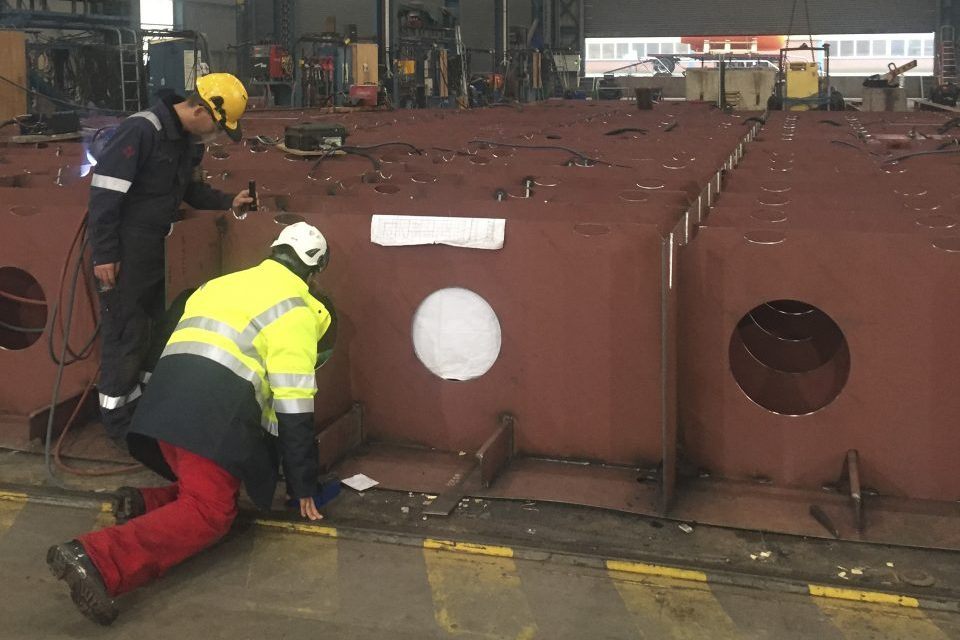 Construction kicks off for world's first shallow draft ice breaking W2W ship