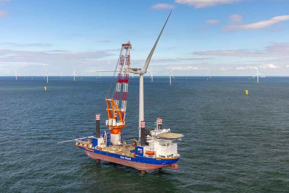 Aeolus installs last turbine at Borssele III & IV offshore wind farm