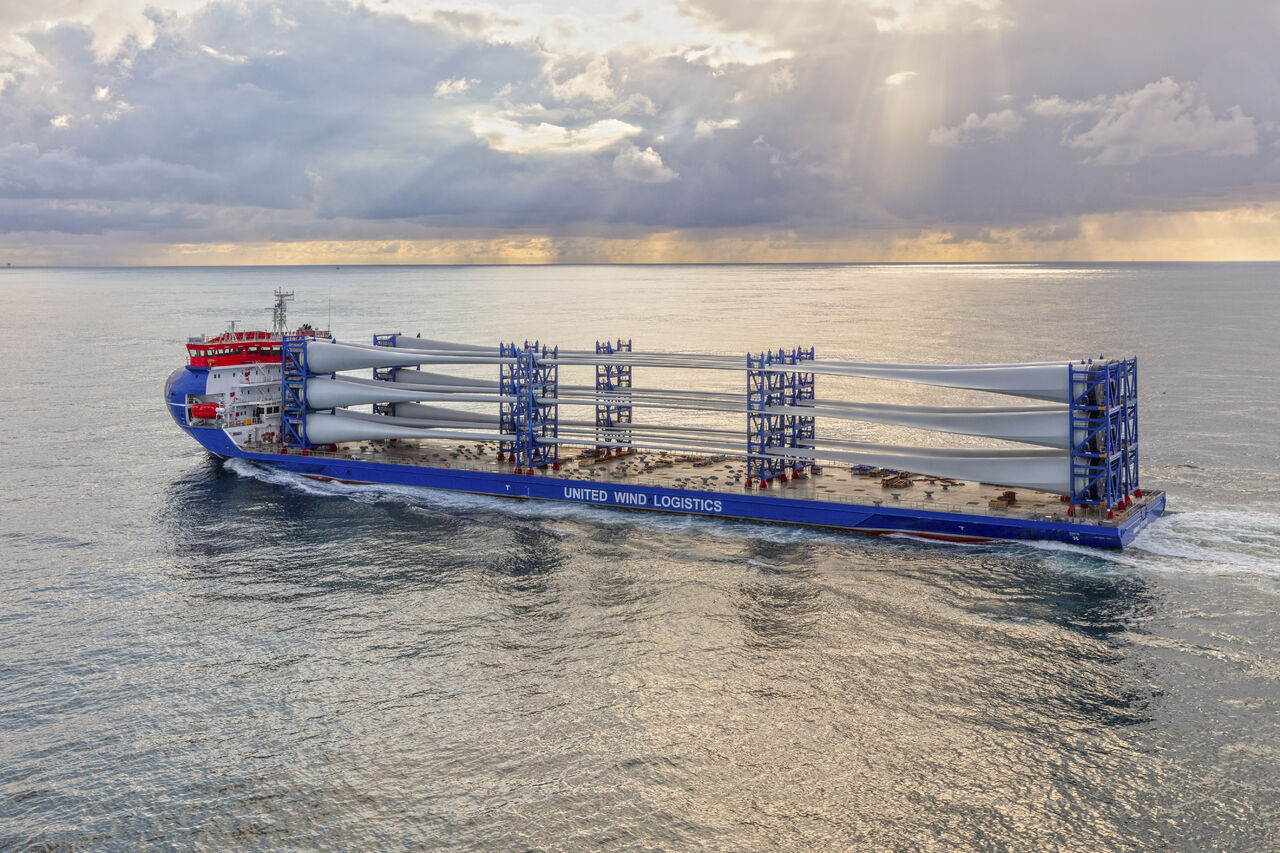 UWL takes delivery of new deck carrier BraveWind
