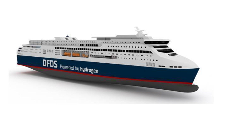 DFDS reveals plans for hydrogen superferry for Oslo-Copenhagen route