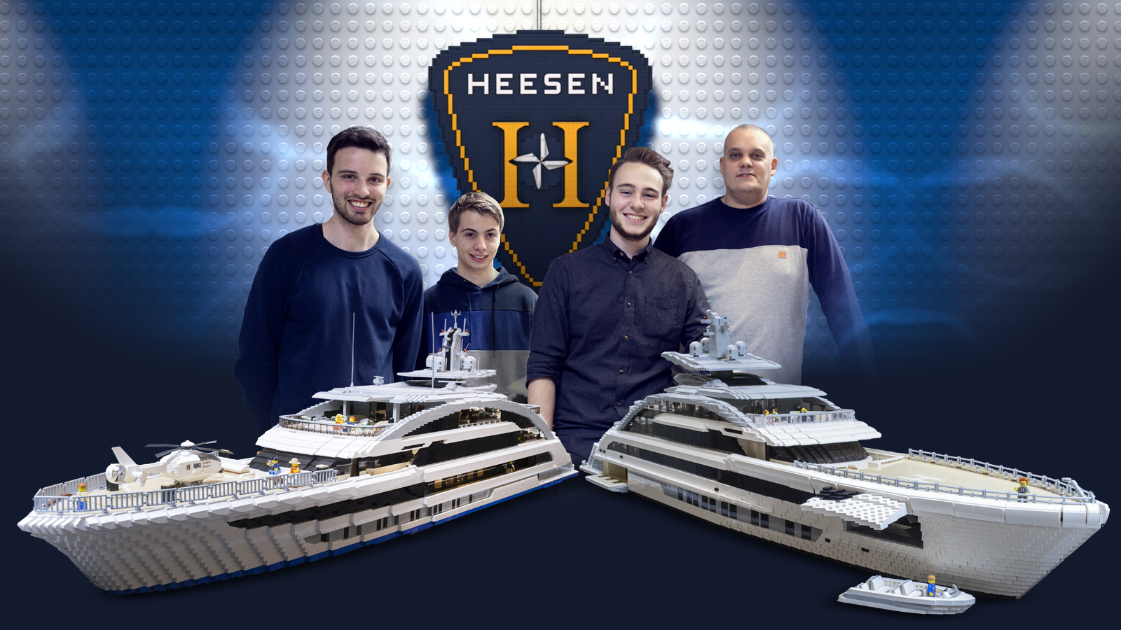 Who builds the best Heesen yacht in Legos?