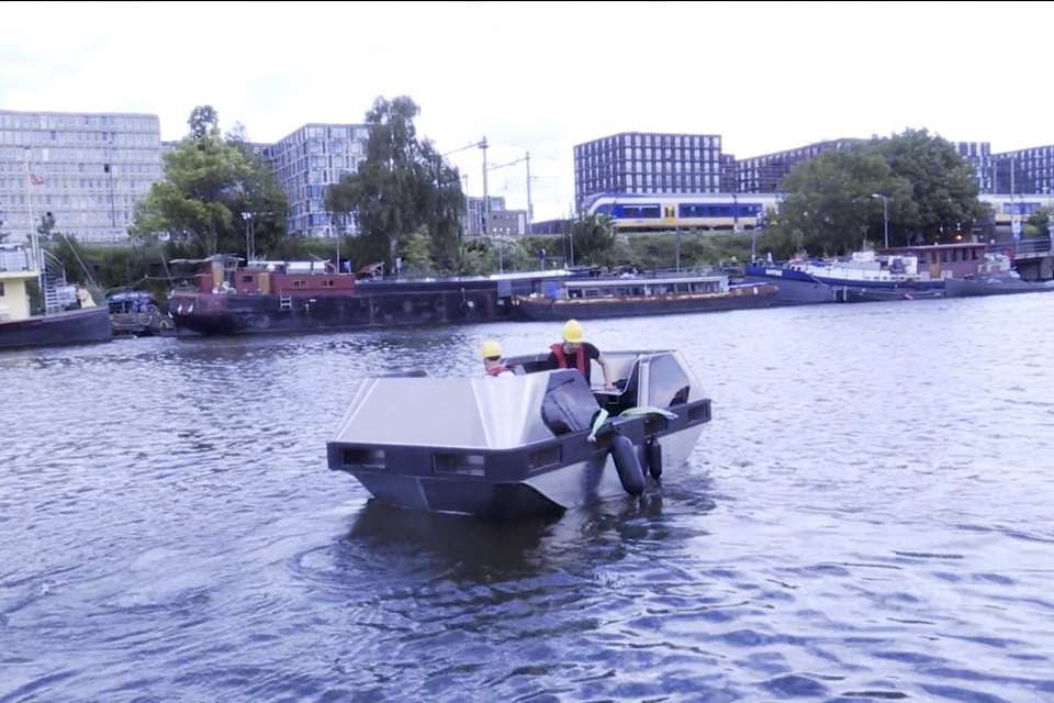 Autonomous Roboat ready for trials on the Amsterdam canals
