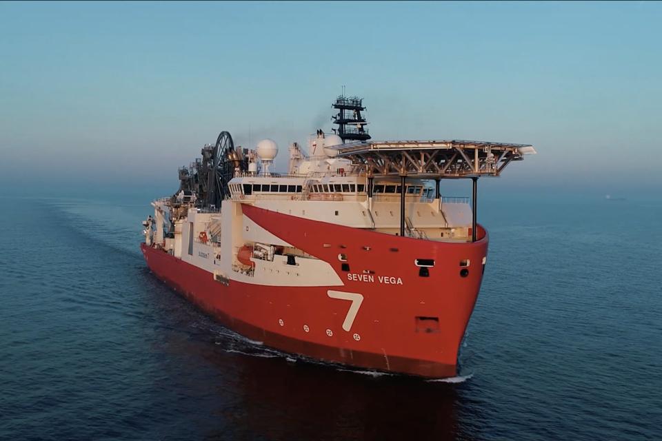 Newbuild reel-lay vessel Seven Vega joins Subsea 7 fleet