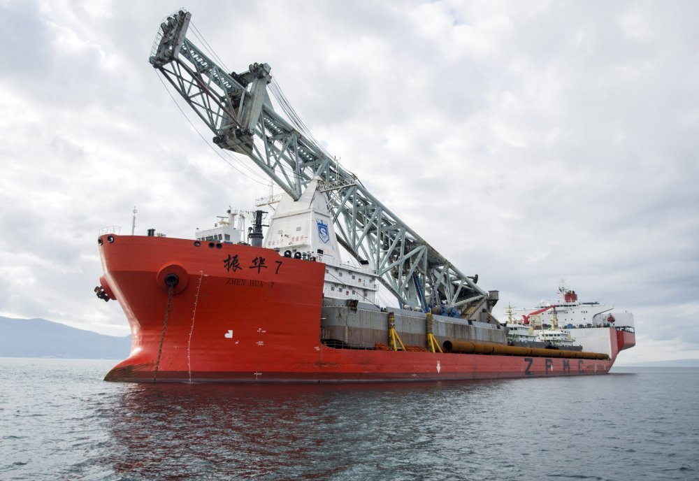 14 crew kidnapped from heavy load carrier Zhen Hua 7