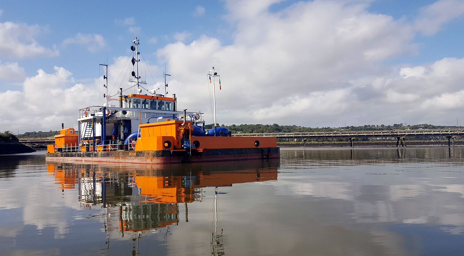 Port of Rotterdam trials water injection dredging