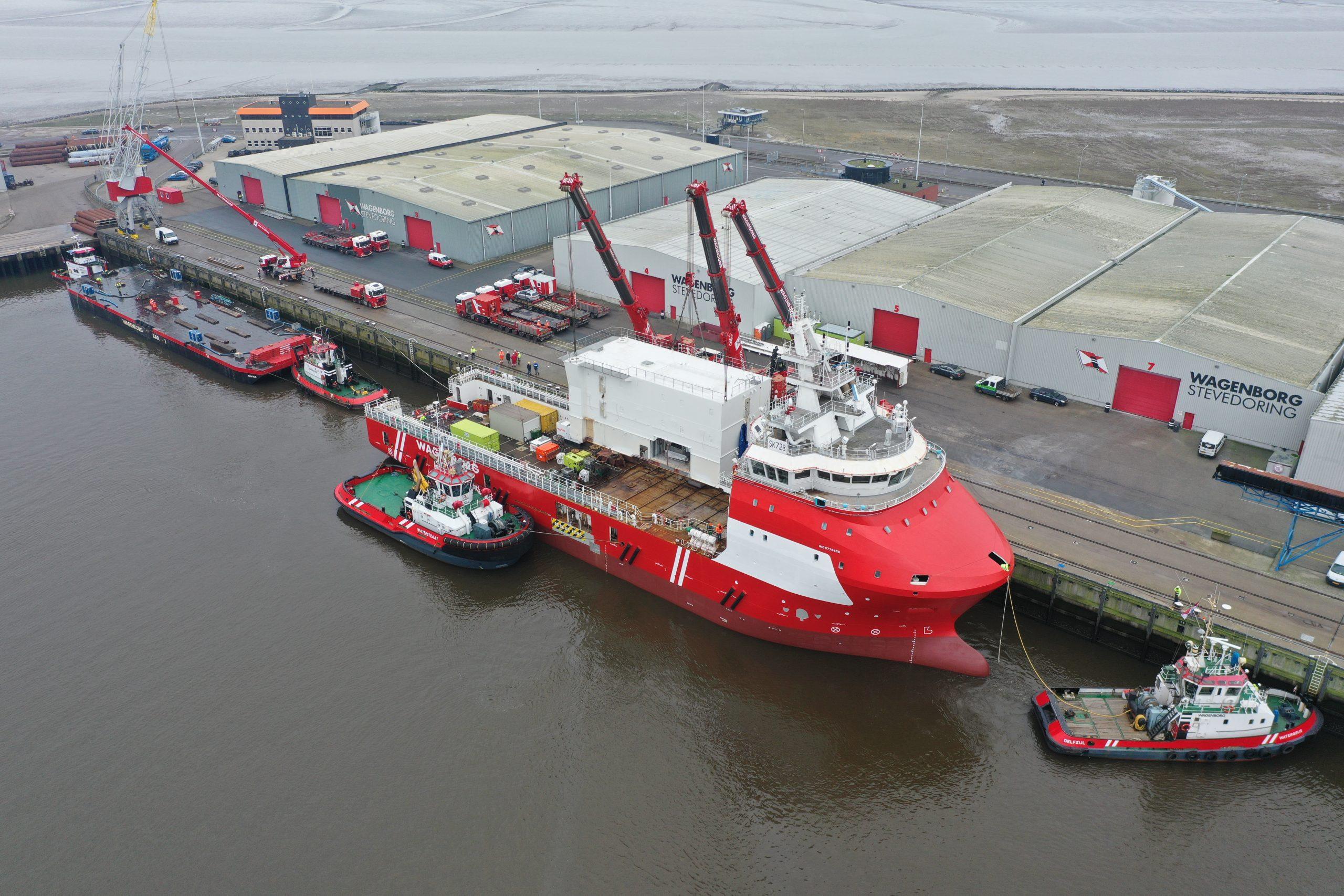 Wagenborg to add third walk-to-work vessel to its fleet