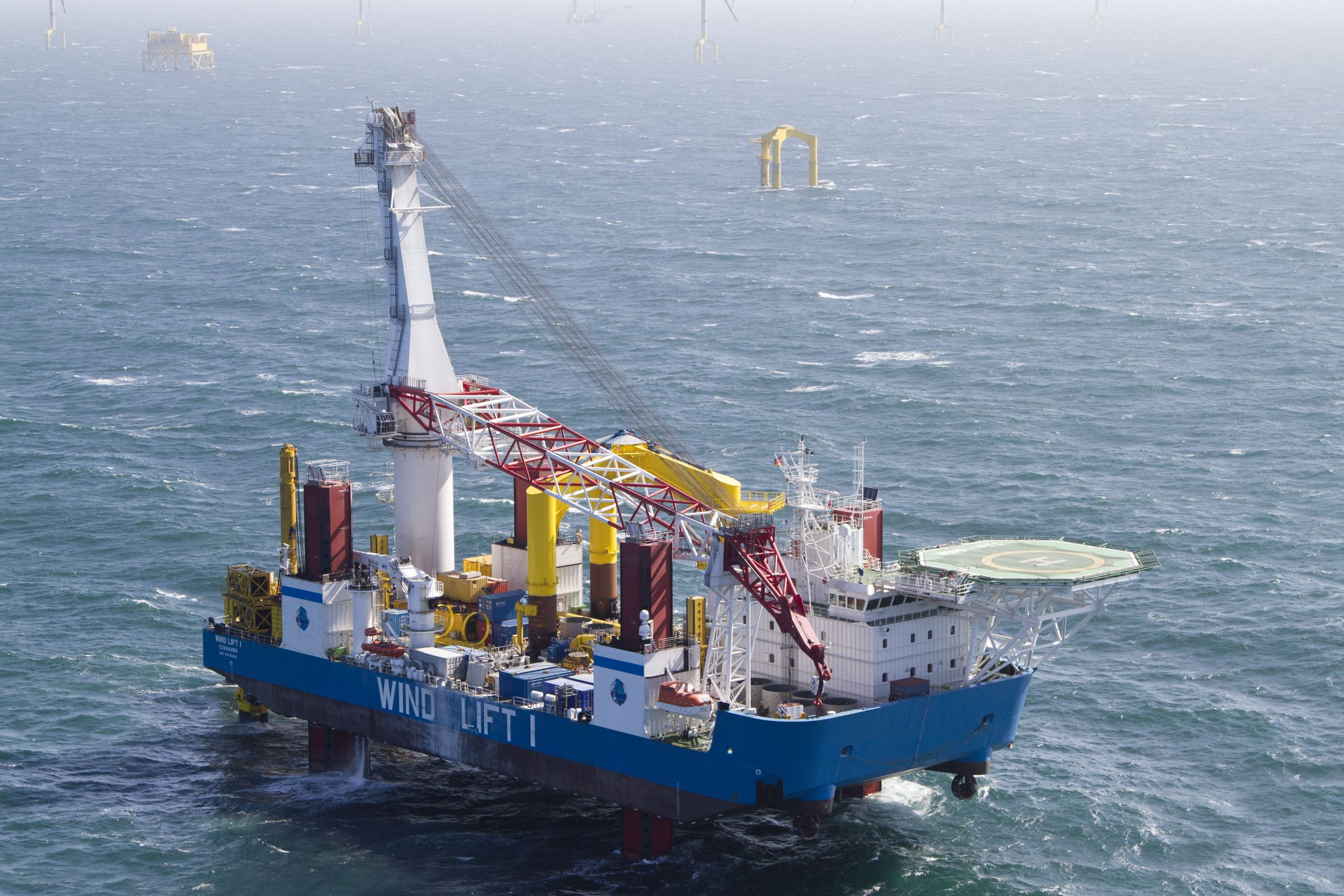 SAL moves into offshore wind installation business