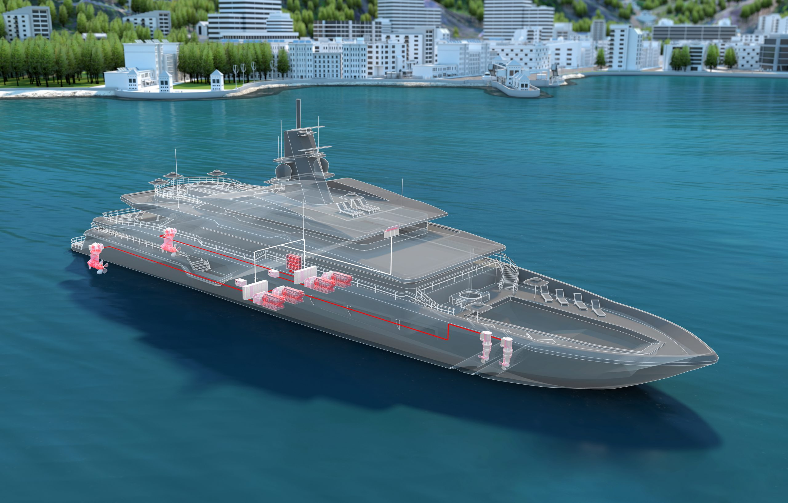ABB wins first Azipod electric propulsion contract for a superyacht