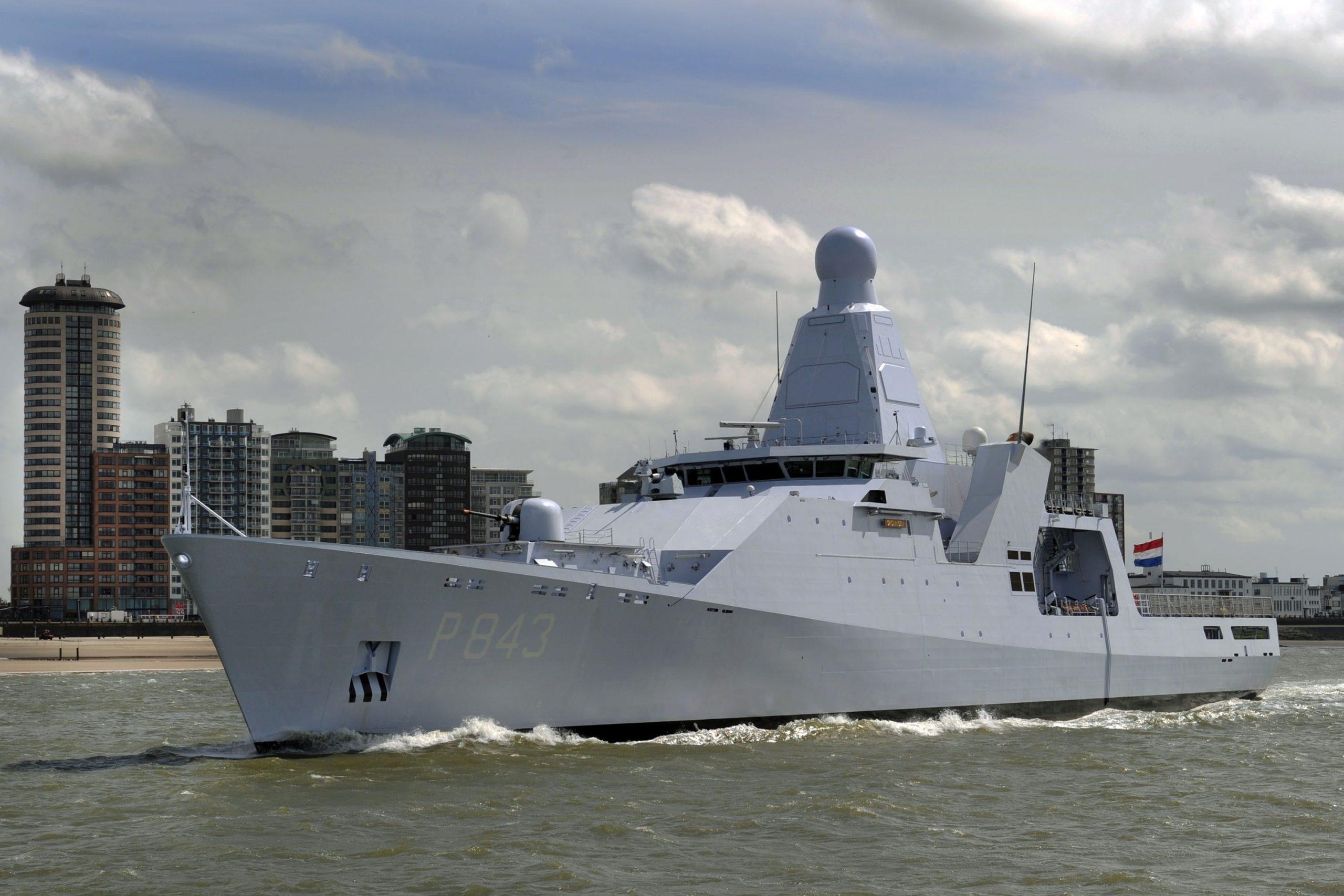 Royal IHC to repair Dutch navy's patrol vessel Groningen