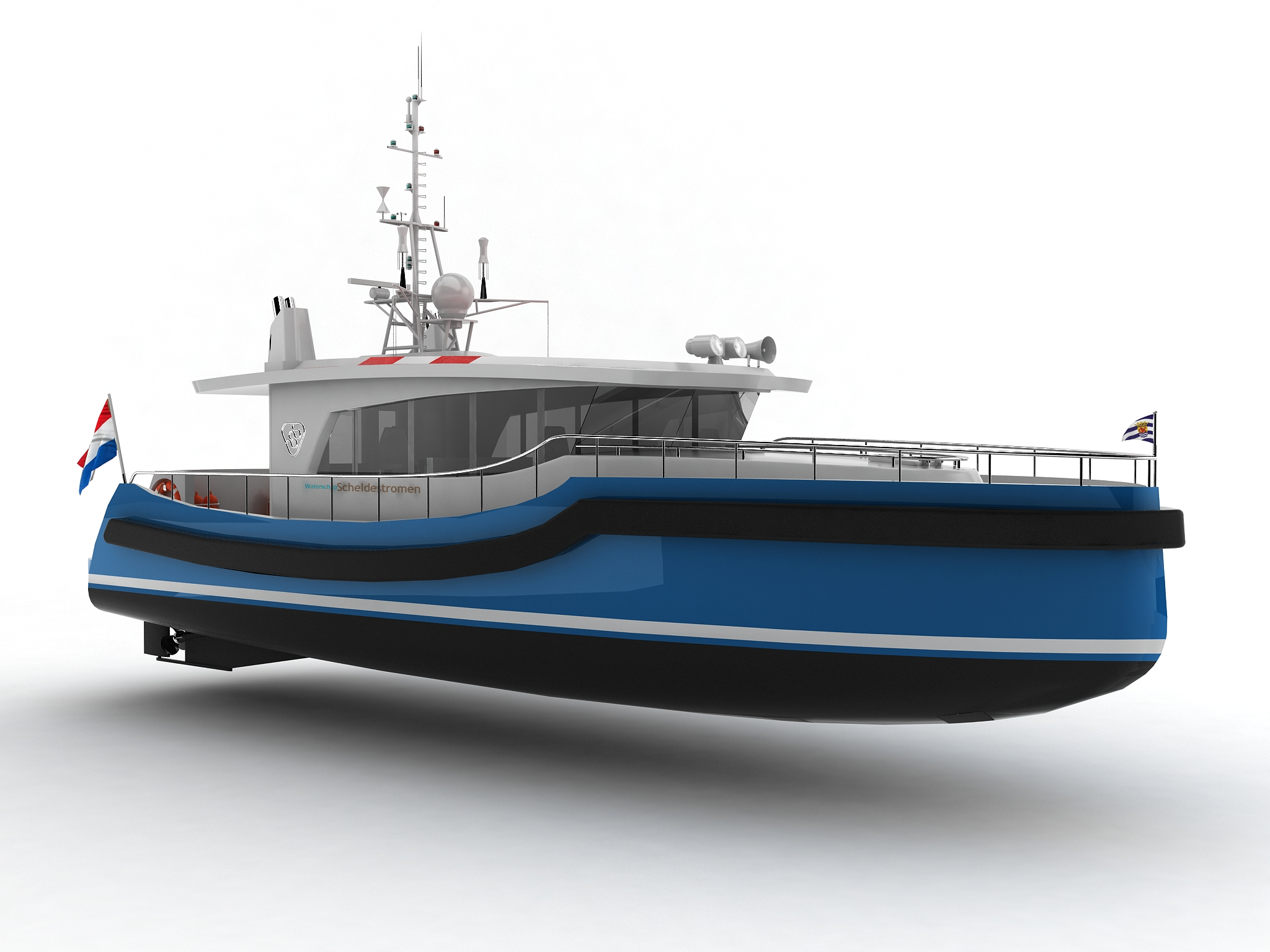 Holland Shipyards to build survey vessel for Dutch water authority