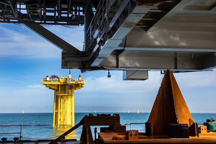 DEME wins contract for Hollandse Kust offshore substations