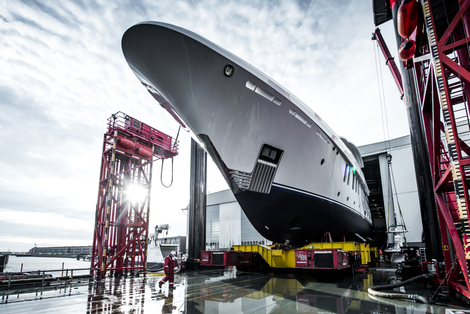 Damen launches first Amels 200 superyacht