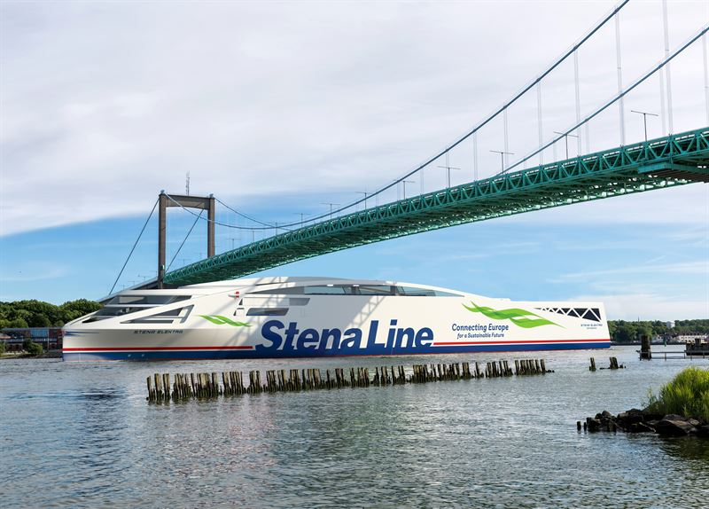 Stena Line plans to operate zero-emission RoPax vessels before 2030