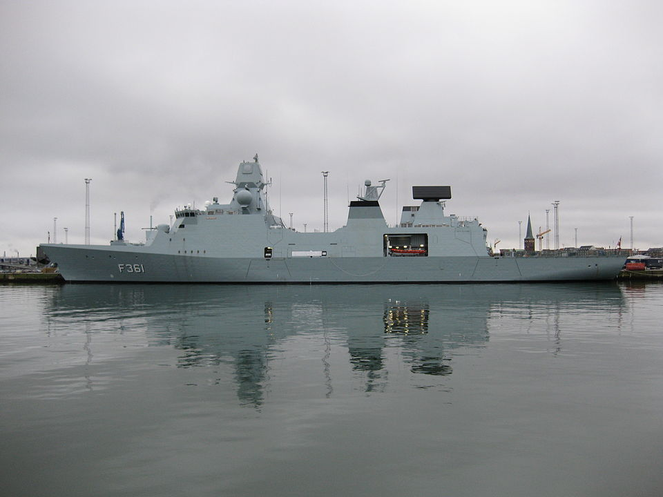 Denmark sends frigate to Gulf of Guinea to fight pirates