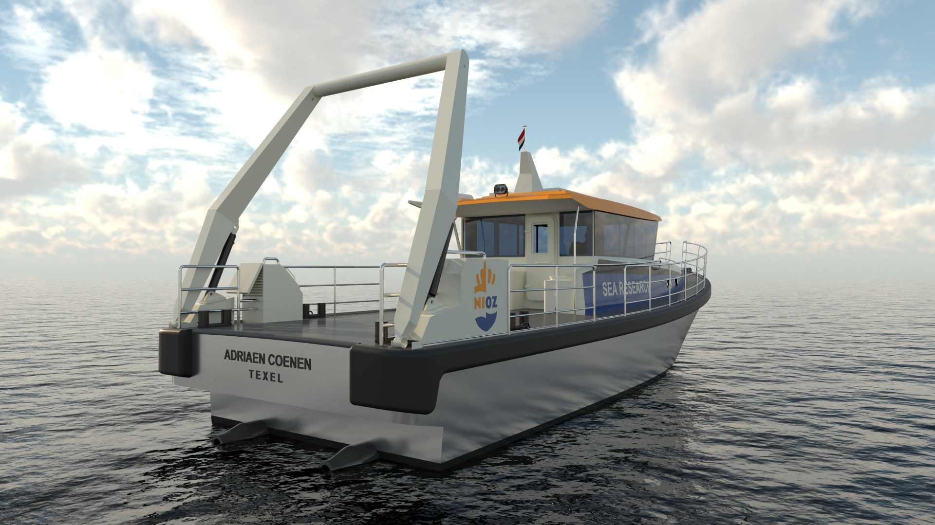 NIOZ and Next Generation Shipyards sign contract for research vessel Adriaen Coenen