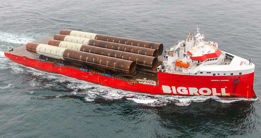 Bakker Sliedrecht and RH Marine fit module carrier BigRoll Bering with DP2