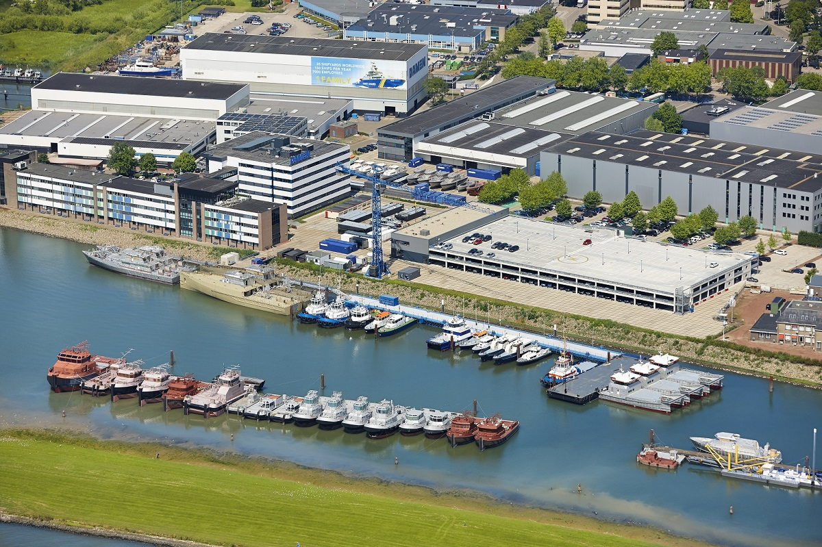 Damen Shipyards launches ship financing division