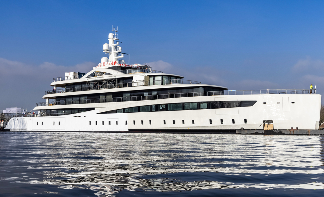 94-metre eco-friendly Feadship seen for the first time