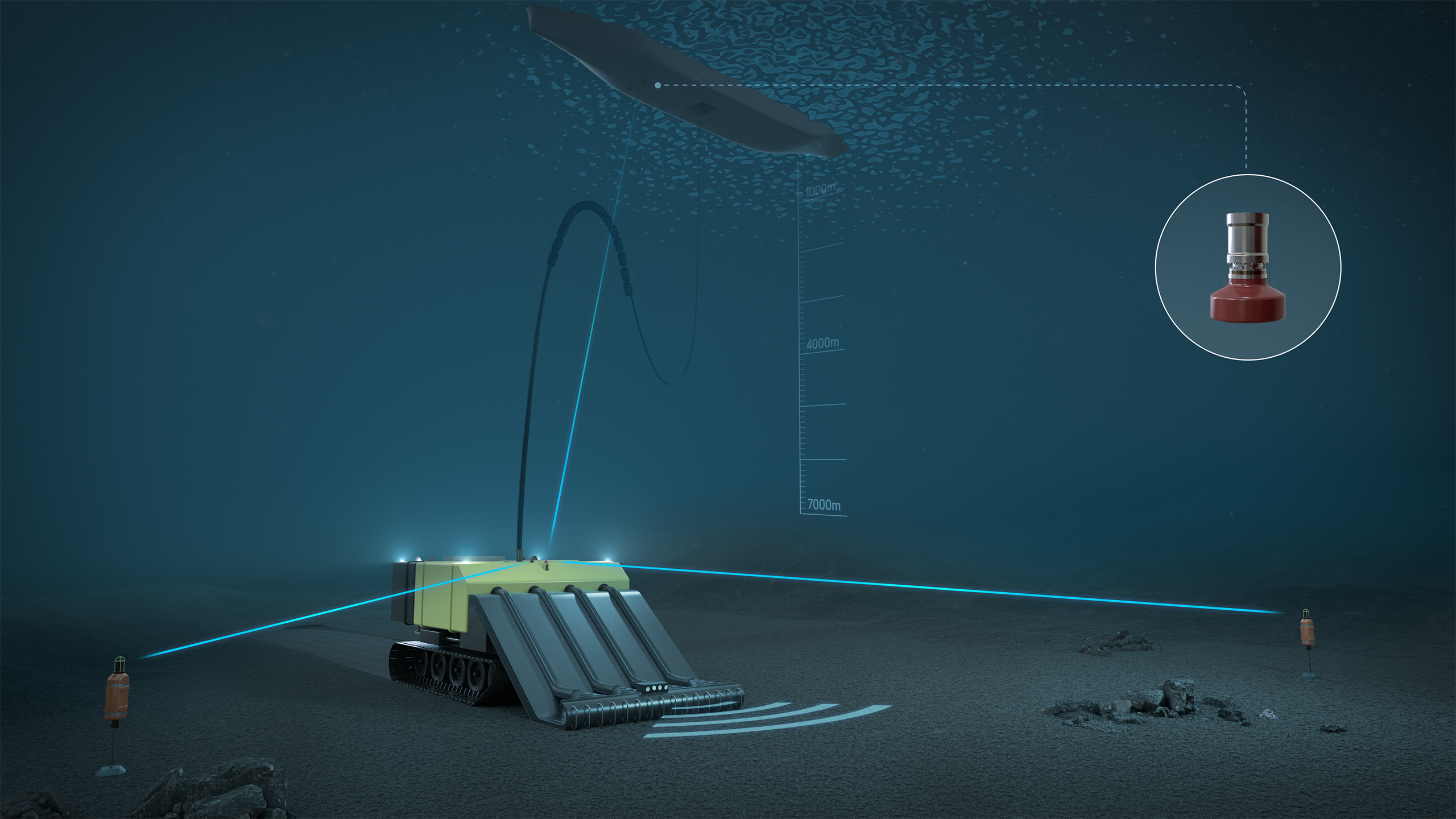 Kongsberg launches positioning tool for deepsea mining