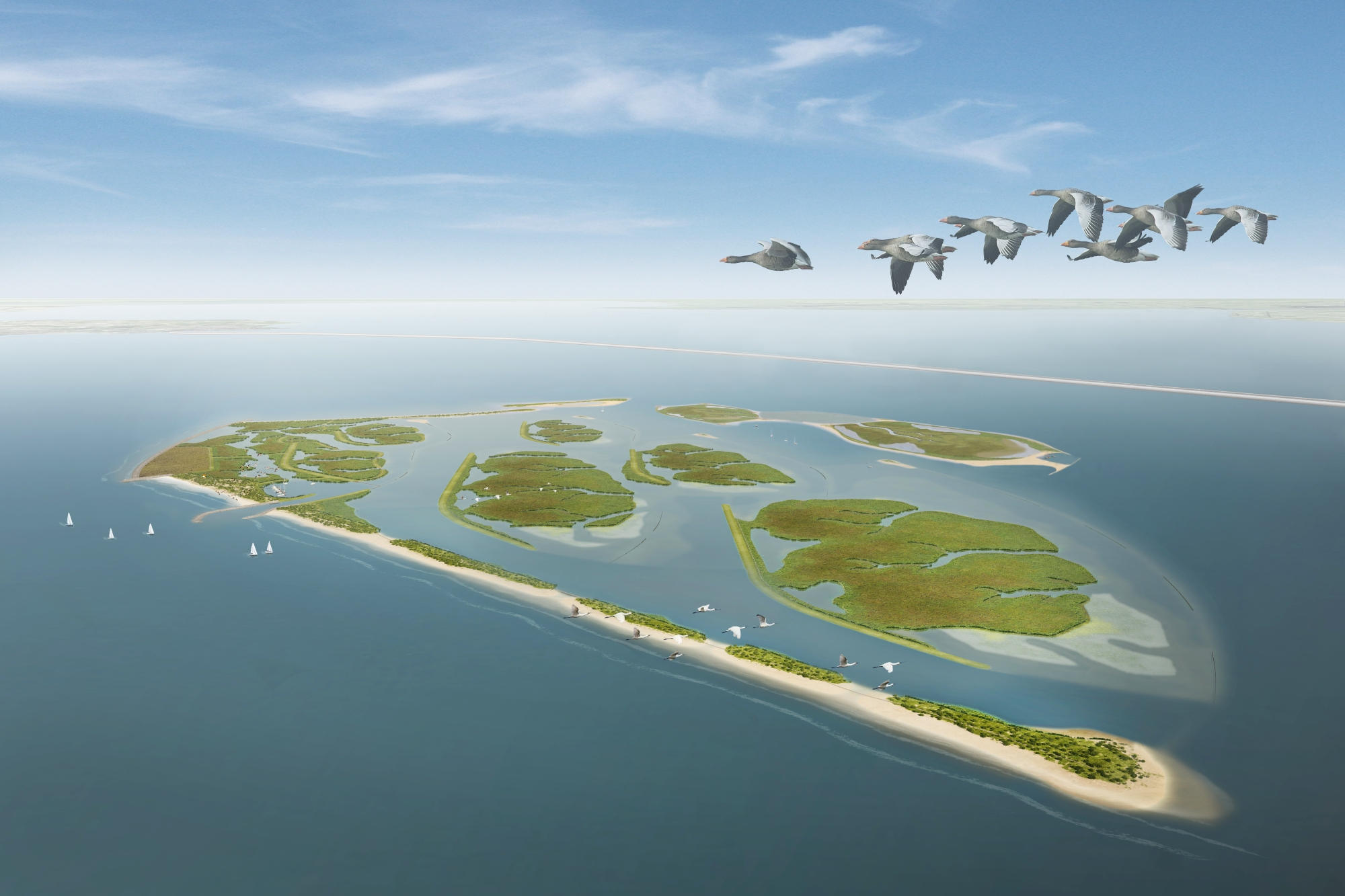 Boskalis to expand Marker Wadden with two new nature islands
