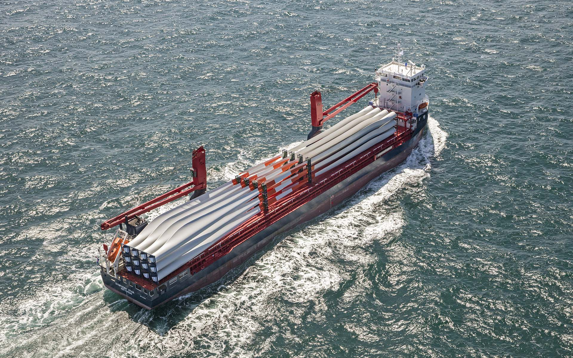 Symphony orders new Ecobox XL project cargo vessels from Ferus Smit