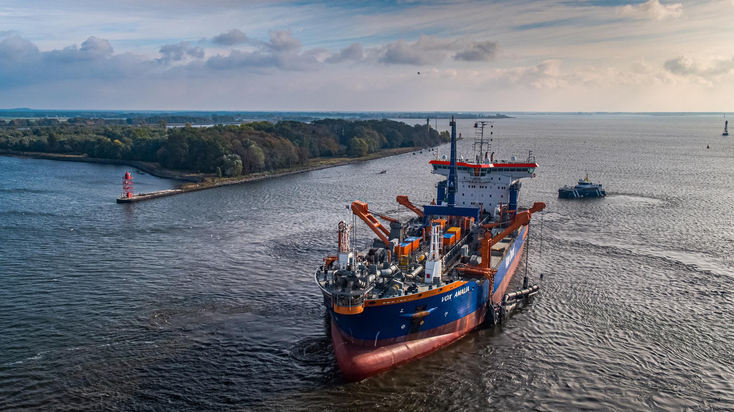 Van Oord: dredging under pressure, strong performance in offshore wind