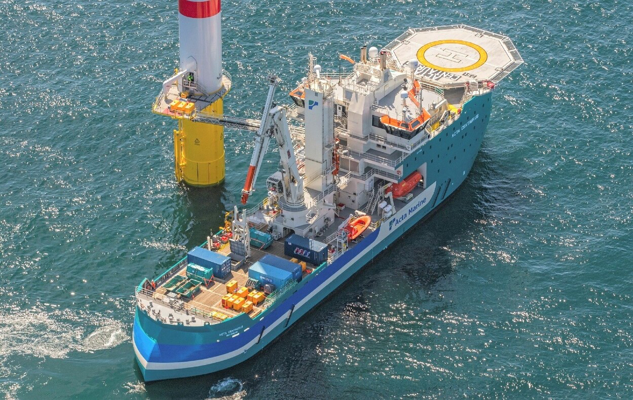 Acta Marine in the market for new co-owner to grow in offshore wind