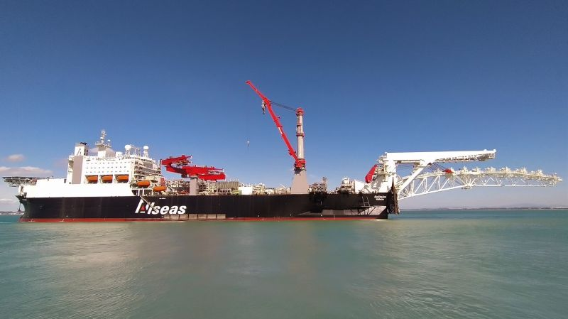 Allseas completes lifetime extension of its pipelayer Solitaire