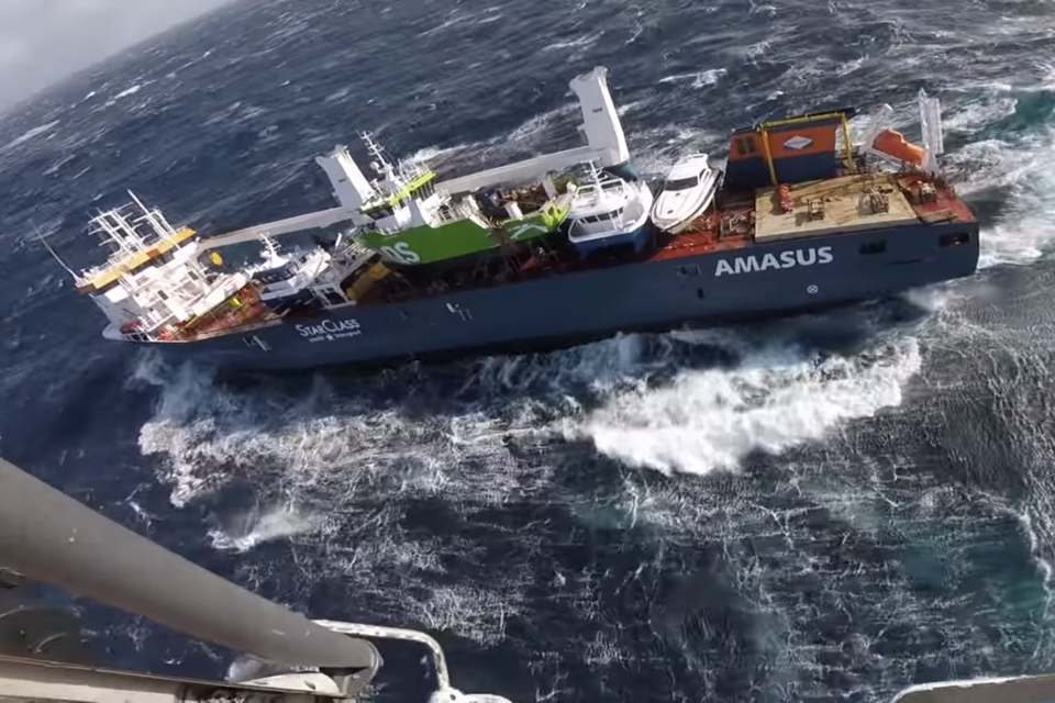 'Amasus Shipping hires Smit Salvage to rescue Eemslift Hendrika'