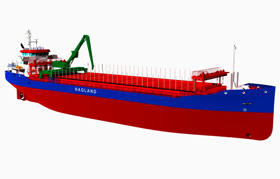 Hagland orders plug-in battery hybrid bulk carriers with Bodewes
