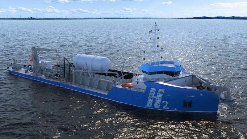 IHC receives approval in principle for hydrogen-fuelled dredger