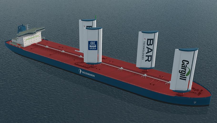 BAR and Yara introduce WindWings to global shipping market