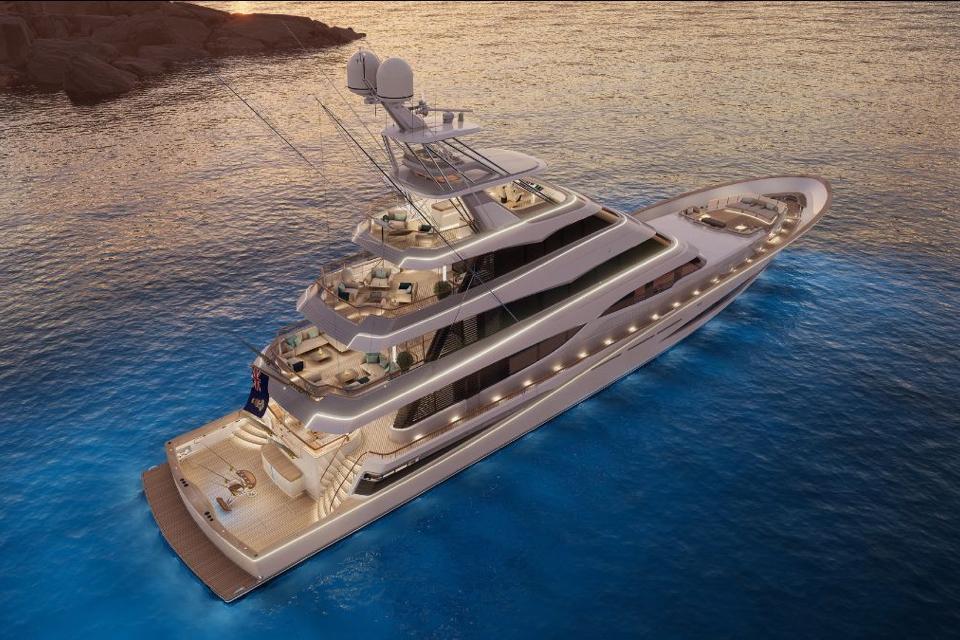 [VIDEO] Royal Huisman reveals world's largest sportfish yacht