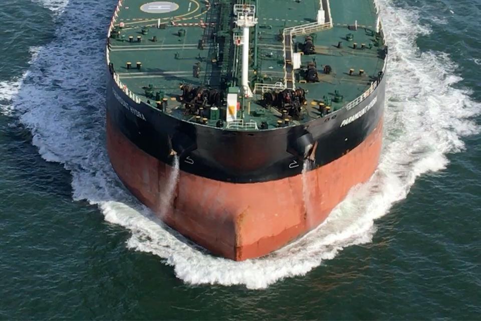 Rain causes negative pressure in cargo tanks