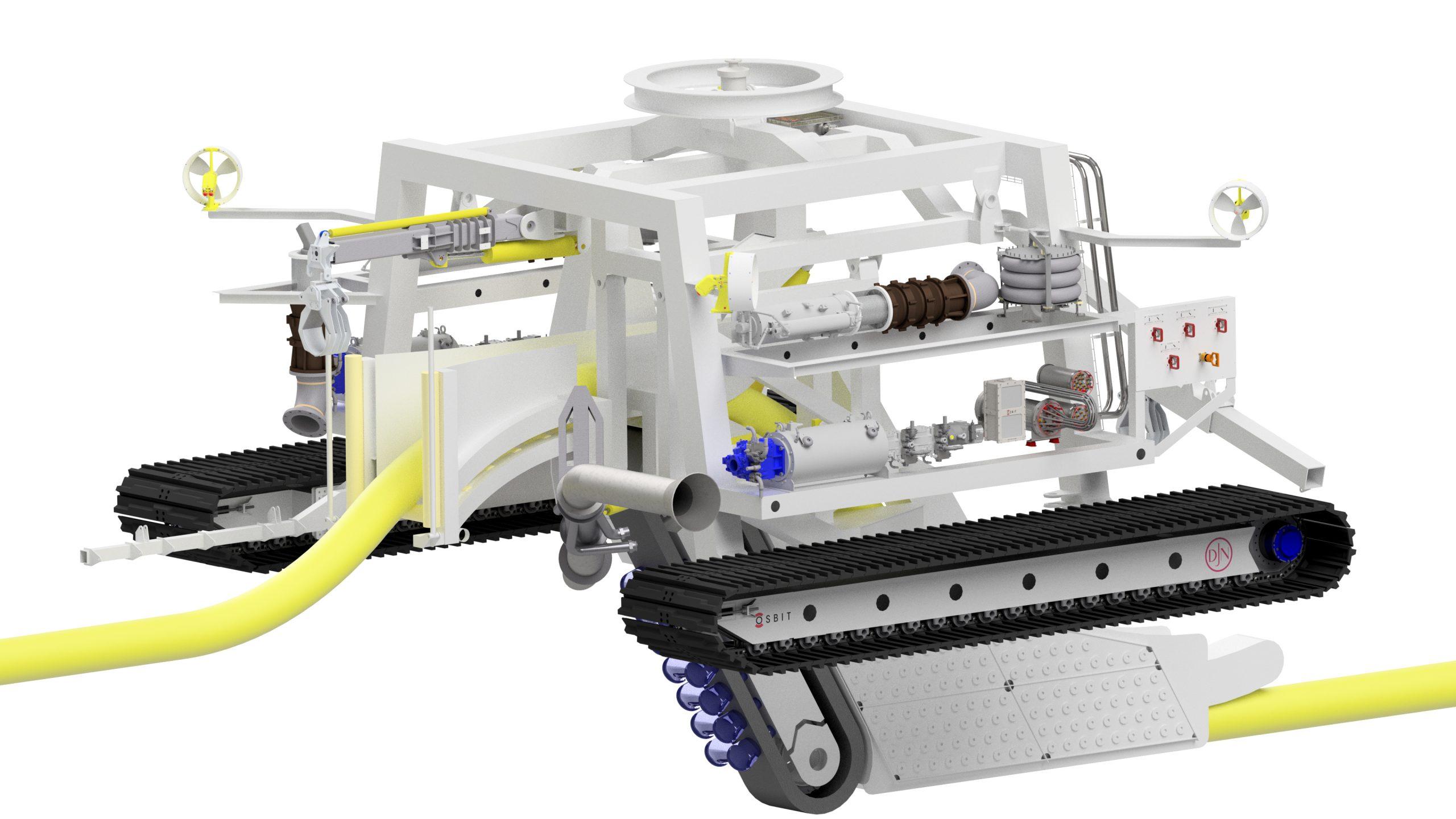 Jan De Nul orders high-powered trenching vehicle Swordfish