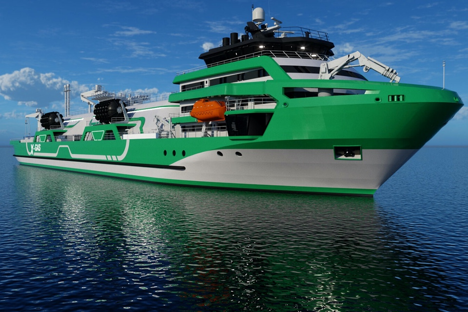 New Knud E. Hansen tanker allows emission-free bunkering