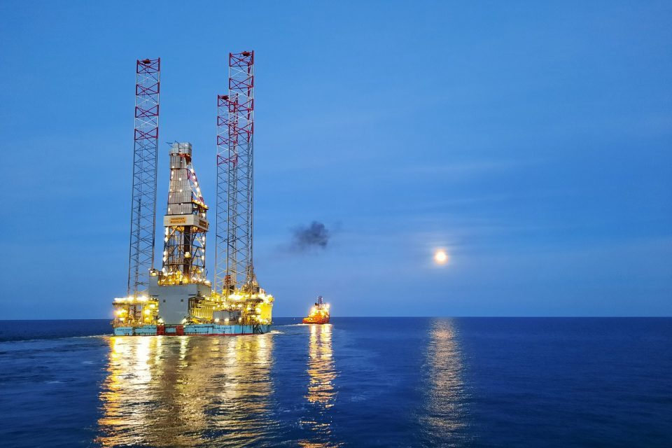 Jack-up Maersk Resolute installed in Dutch Sector
