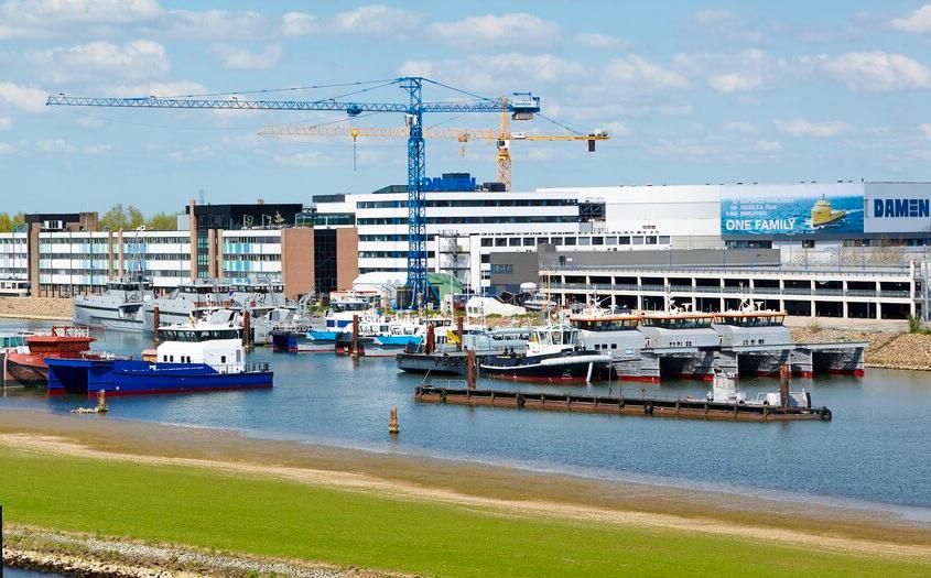 Damen Shipyards' order book reaches record level