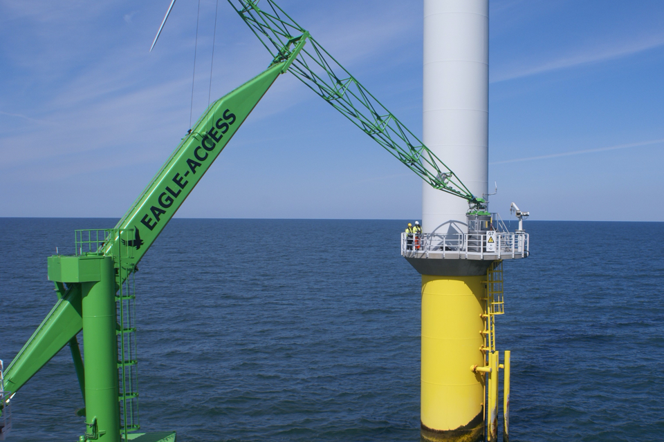 New offshore access system completes sea trials