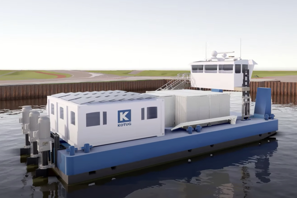 Kotug develops zero-emission E-Pusher tug