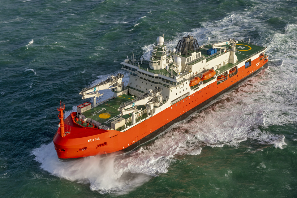 Damen: Antarctic research vessel Nuyina is the most complex ship we ever built