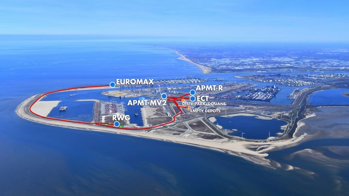 No autonomous vehicles on new road network in Port of Rotterdam after all