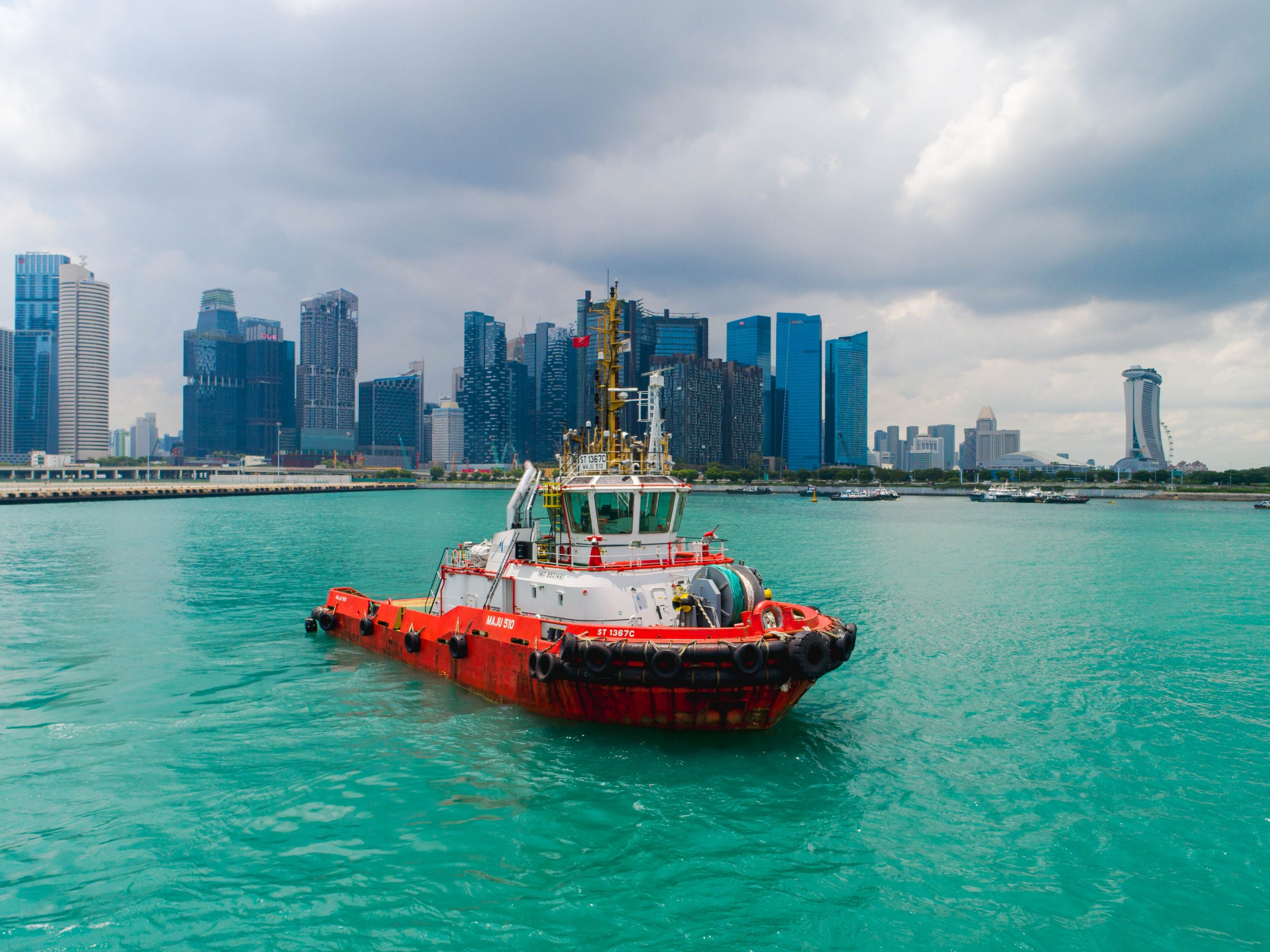 [VIDEO] ABB and Keppel trial remote controlled tug Singapore