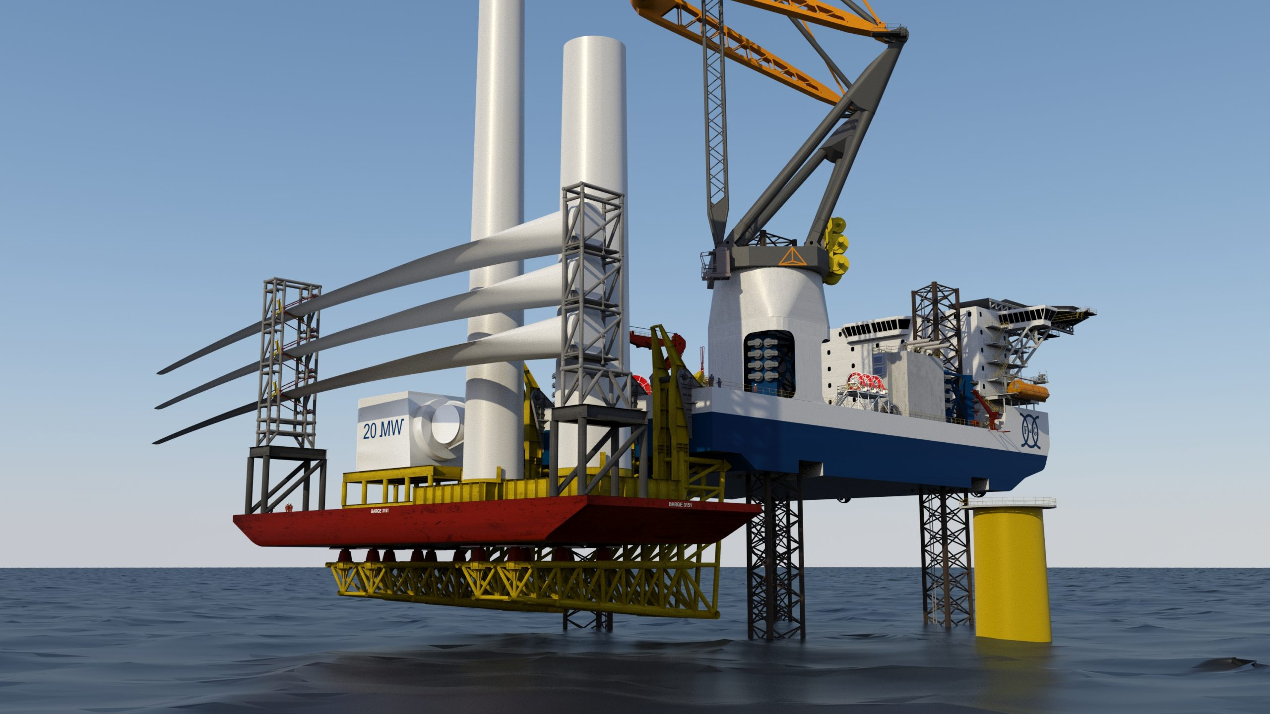 BargeRack increases uptime of offshore installation vessels