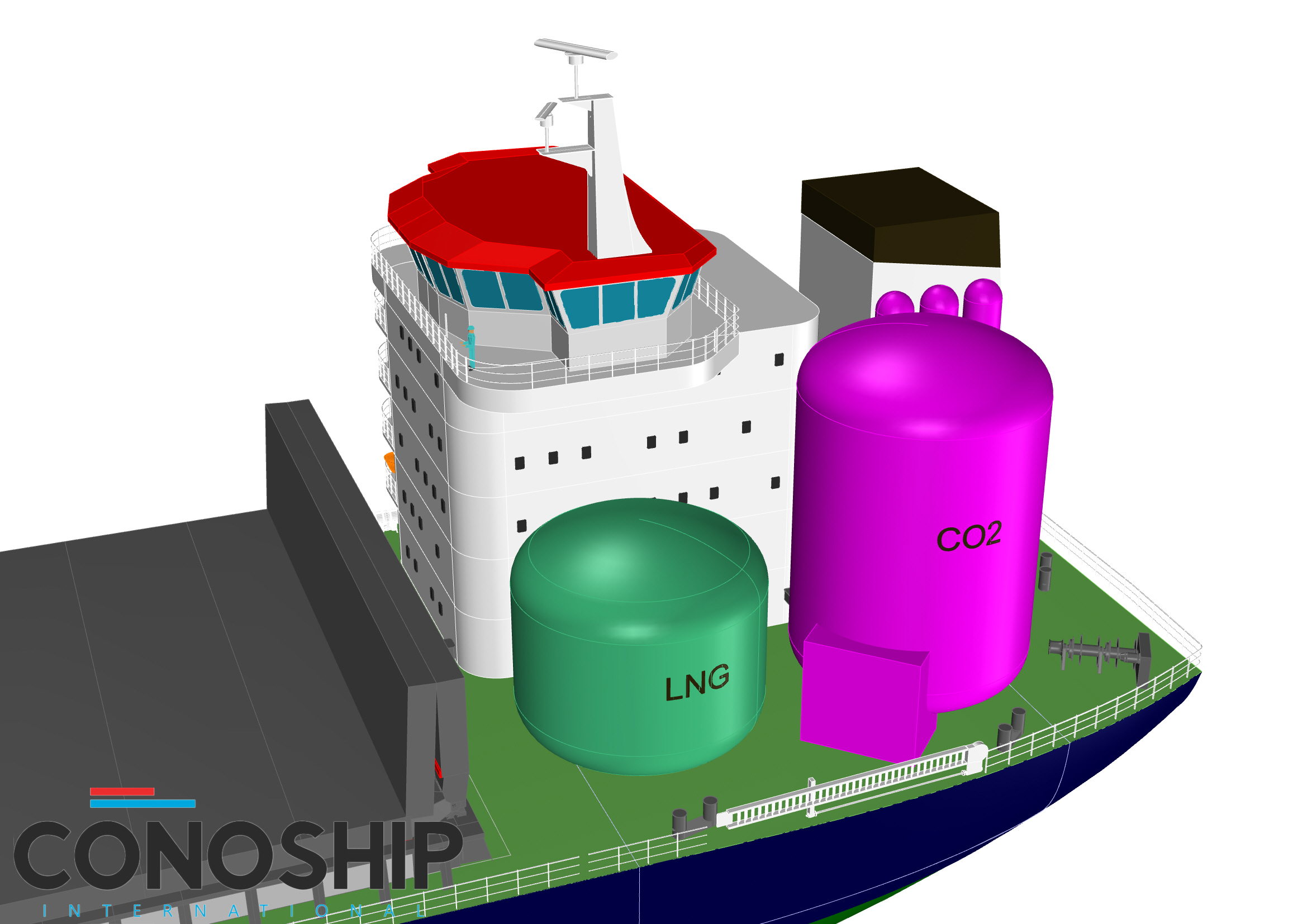 Conoship: Marine carbon capture future-proofs LNG-fuelled vessels