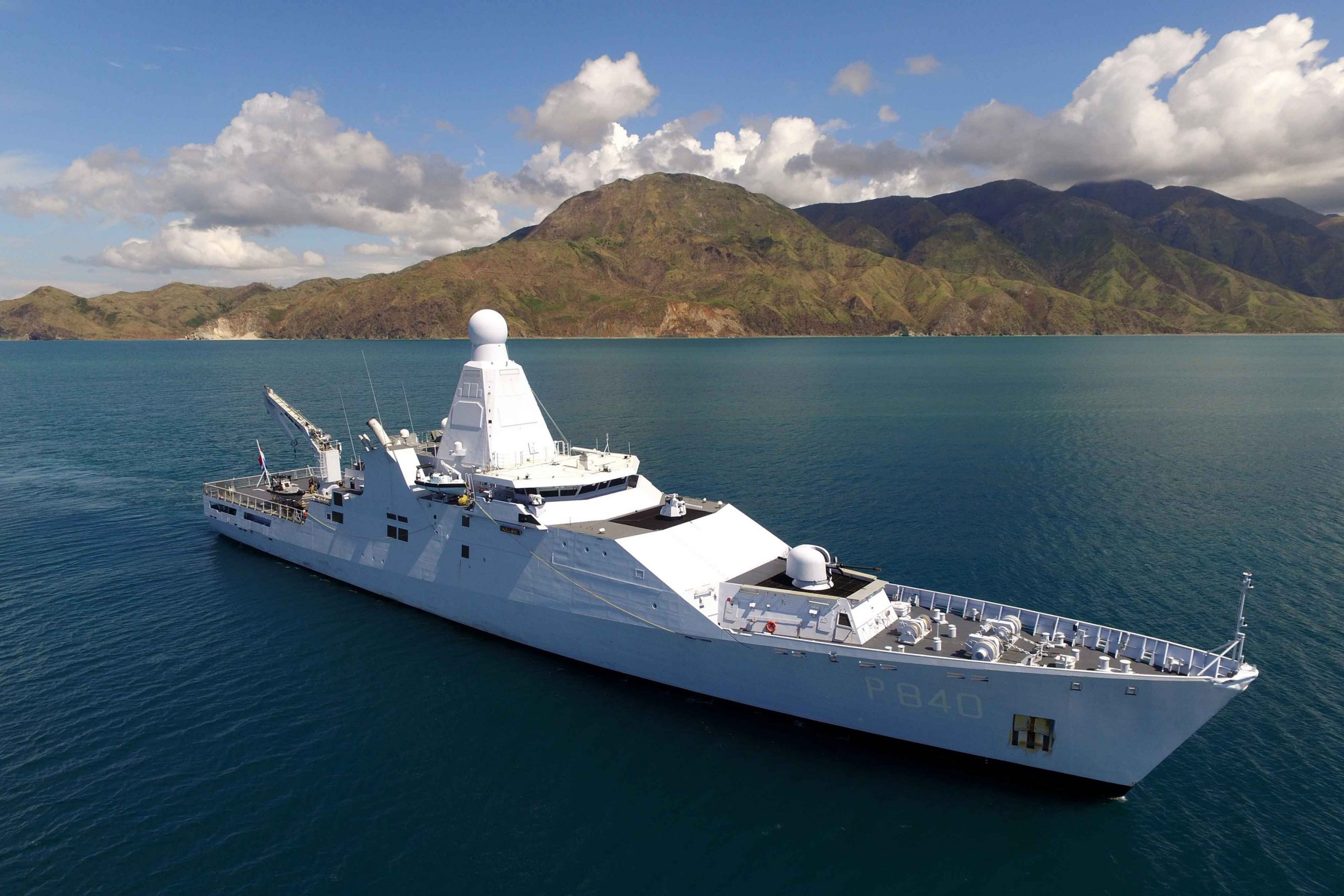 Royal Netherlands Navy opens fire on drug boats in Caribbean